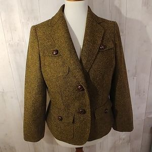 Jones New York Signature Tweed Jacket